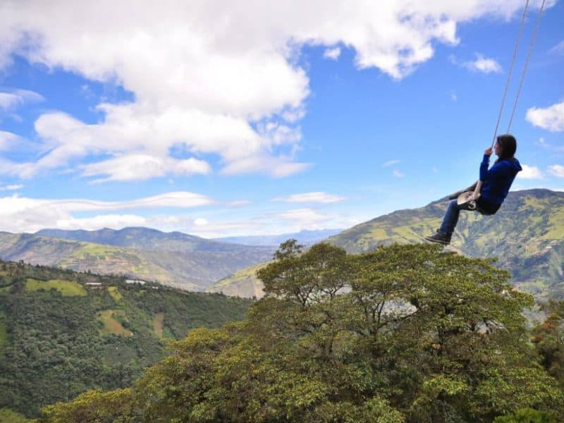 Swing at the End of the World – Baños, Ecuador