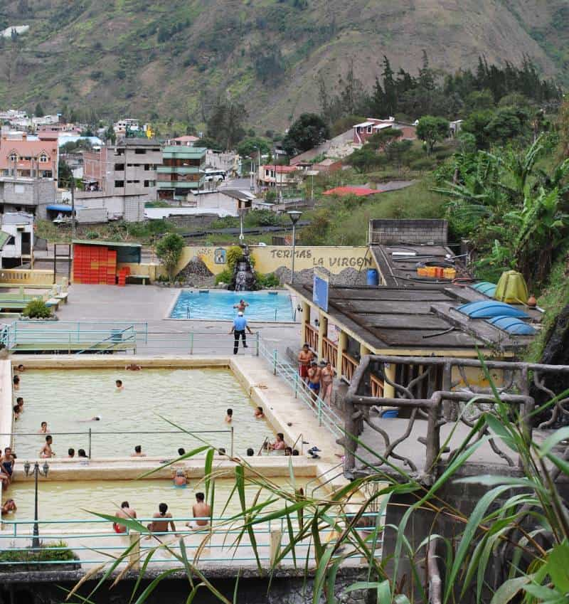 Thermal Bath - Swing at the End of the World – Baños, Ecuador