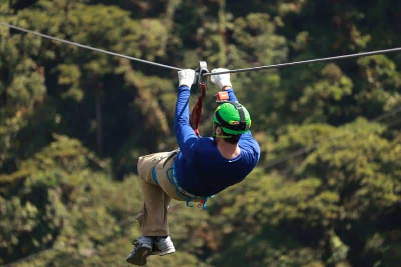 Zipline Ride - Swing at the End of the World – Baños, Ecuador