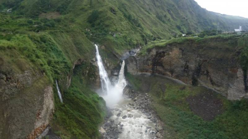 Waterfall - Swing at the End of the World – Baños, Ecuador
