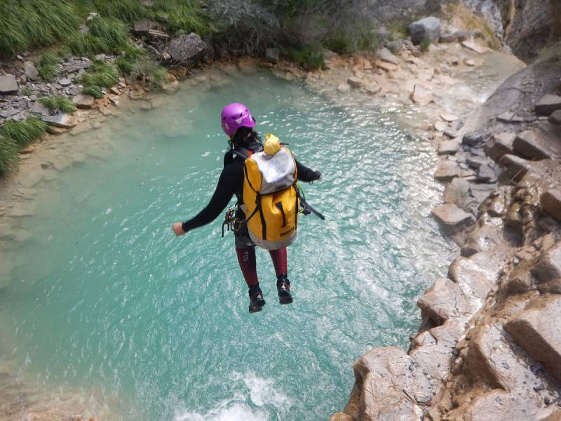 Canyoning - Swing at the End of the World – Baños, Ecuador
