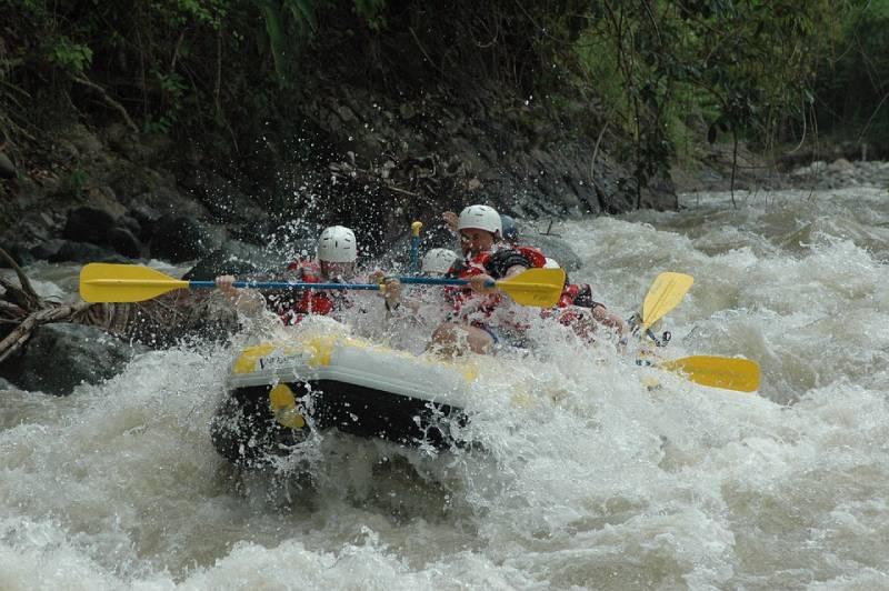 Water Rafting - Swing at the End of the World – Baños, Ecuador