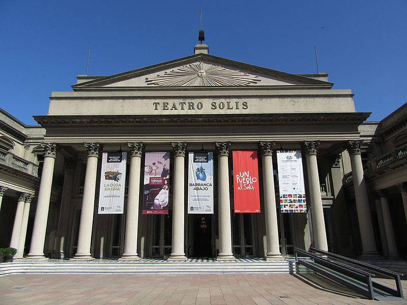 Teatro Solis - Uruguay with Family