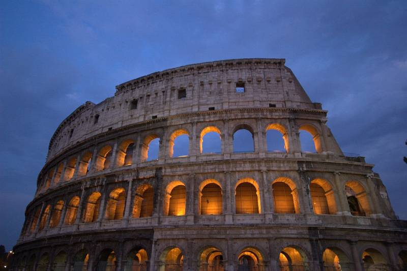 The Colosseum in Rome, Italy - Unique Spots To Visit With Kids