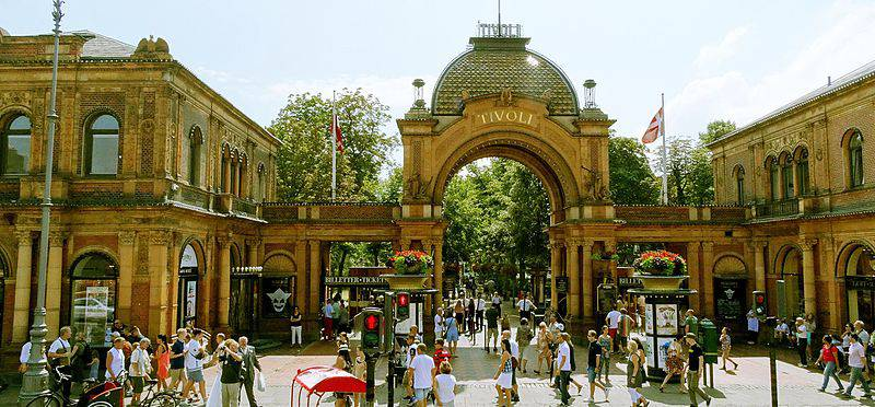 Tivoli Gardens - Denmark with Kids