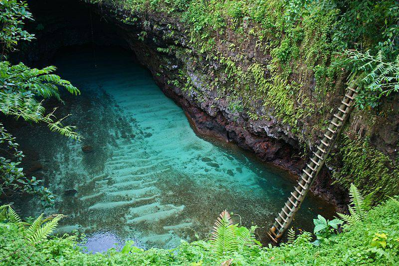 To Sua Ocean Trench - Best Natural Swimming Holes