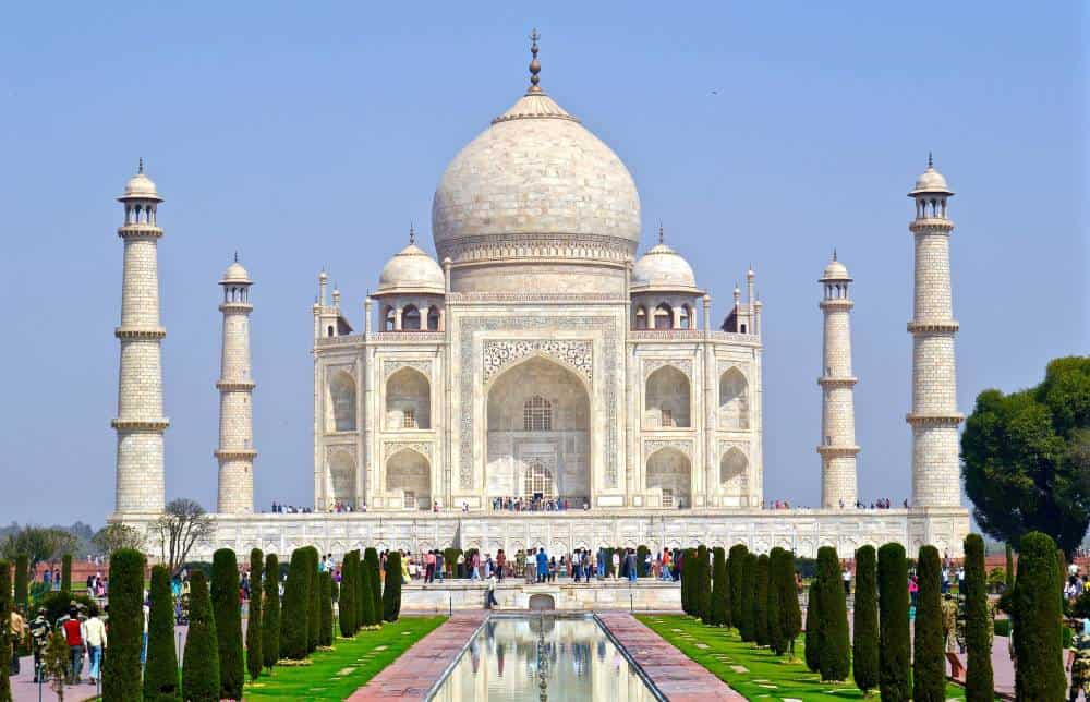 Taj Mahal, India - Unique Spots To Visit With Kids