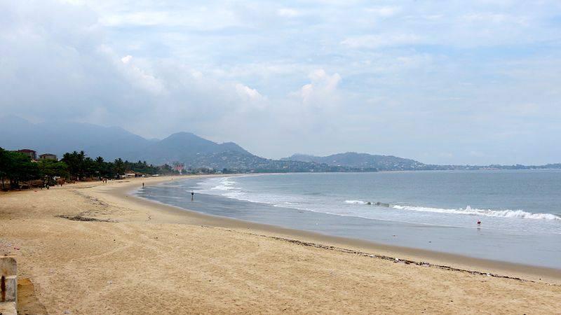 Beach - Sierra Leone with Kids