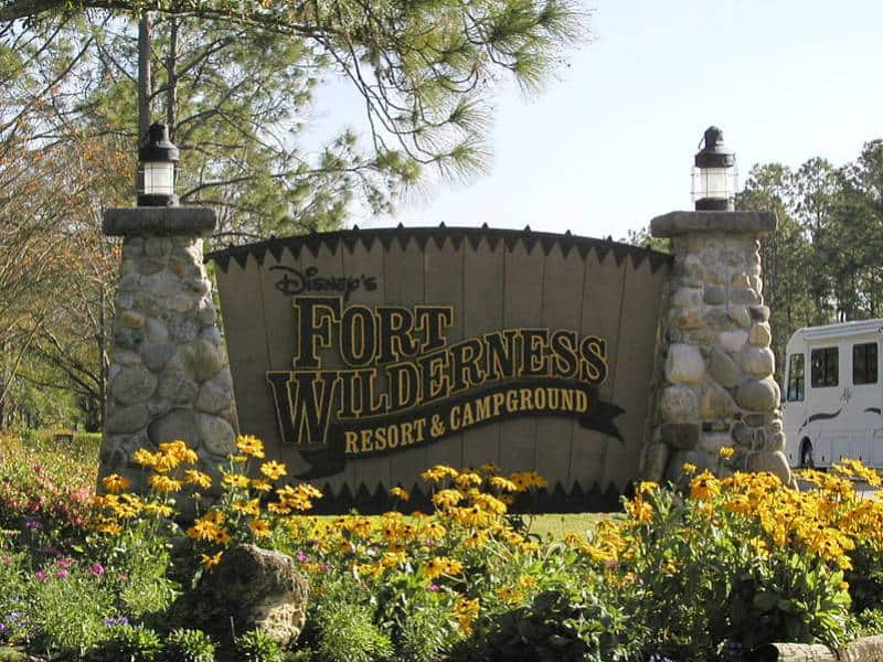 Campsites at Disney's Fort Wilderness Resort