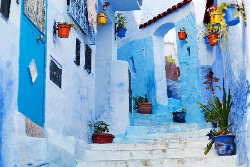 Chefchaouen's medina - Best African Countries