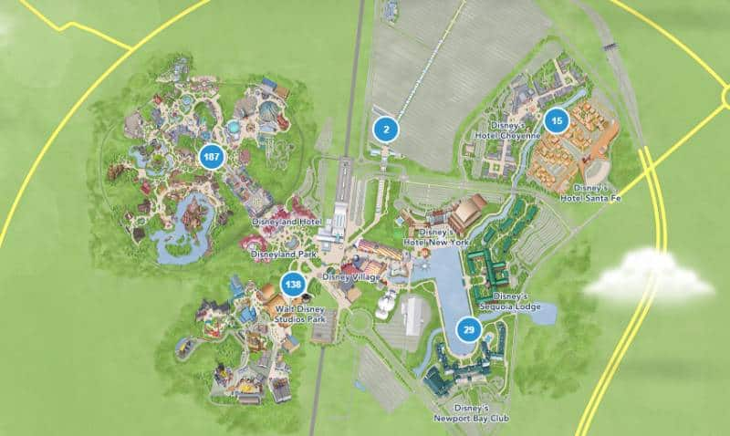 Disneyland Map - Things to Pack in Your Backpack for Disneyland