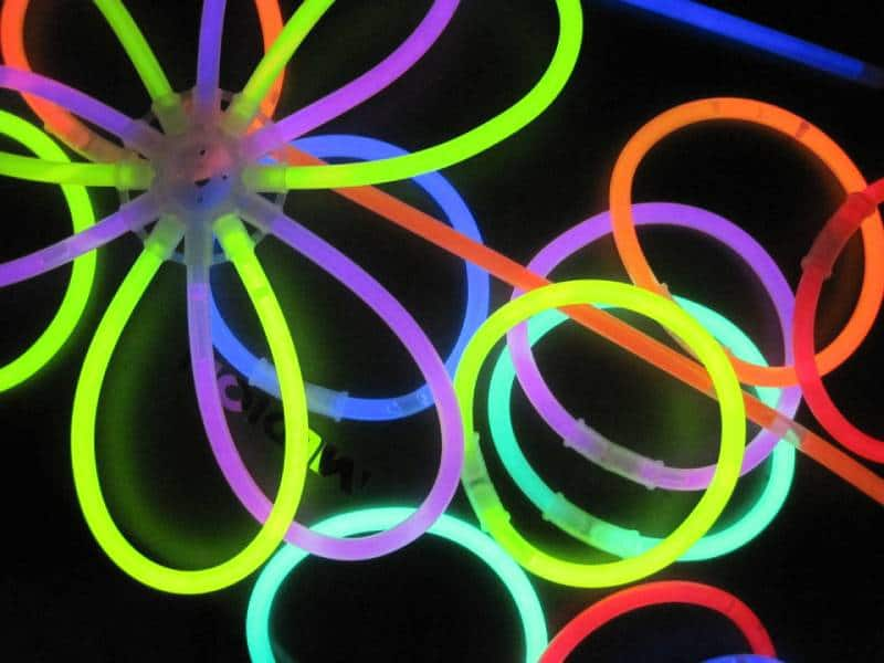 Glow Sticks - Things to Pack in Your Backpack for Disneyland