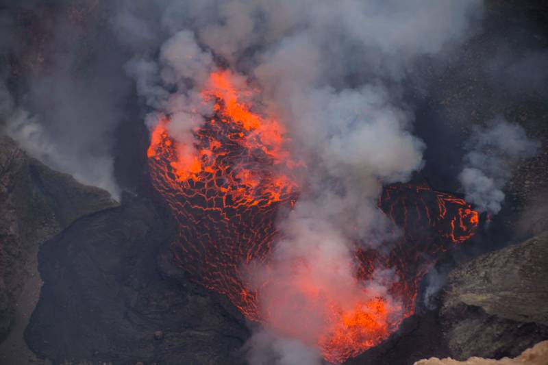 Nyiragongo Volcano, Democratic Republic of Congo - Best African Countries