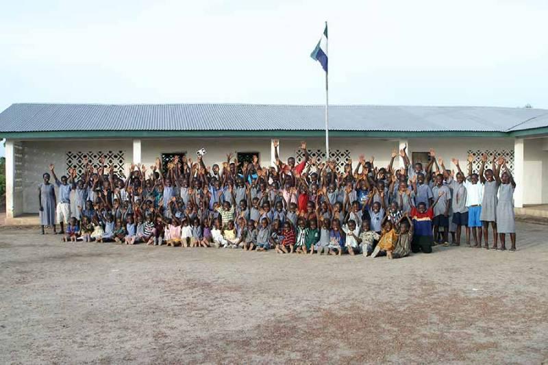 Rogbonko Village - Sierra Leone with Kids