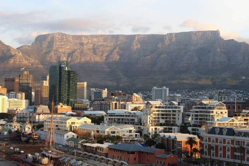 Table Mountain, South Africa - Best African Countries
