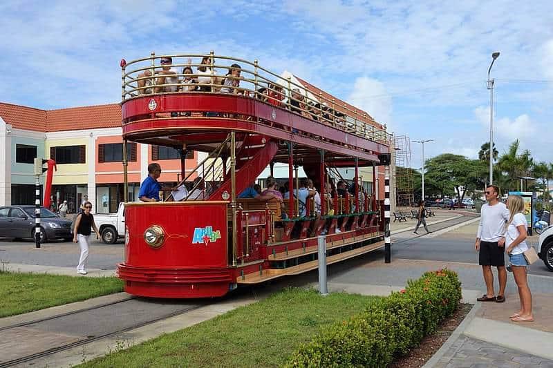 Aruba Streetcar - Aruba with Kids