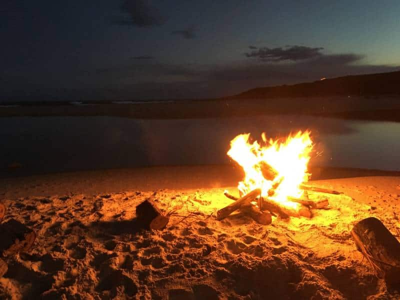 Bonfire at the Beach- Free Things to Do in San Diego, California