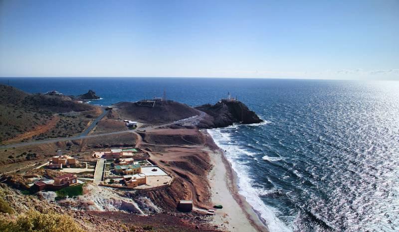 Cabo De Gata Landscape Almeria