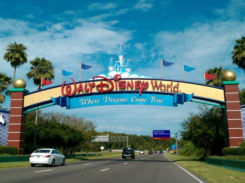 Disney Resort Entrance