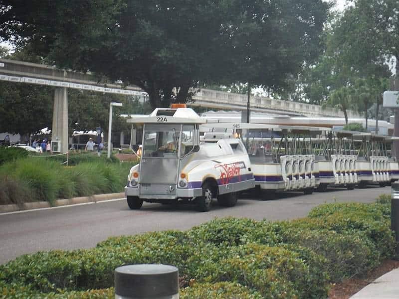 Disney World Parking Tram