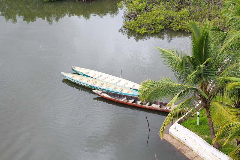 Gambian pirogue