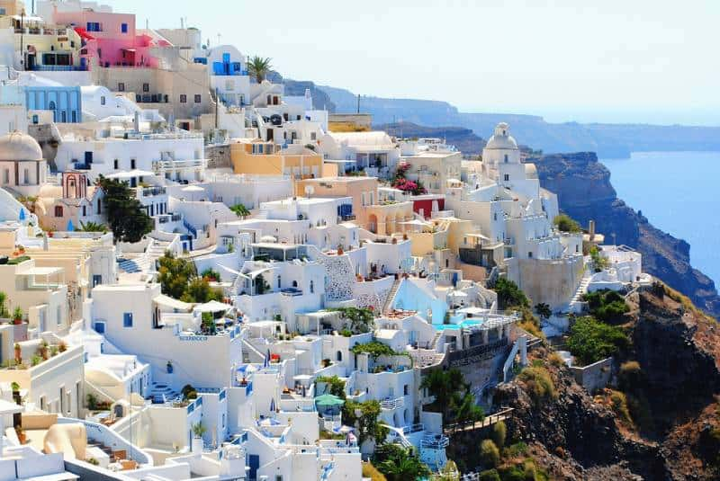 Santorini, Greece - Best Countries To Travel On A Budget