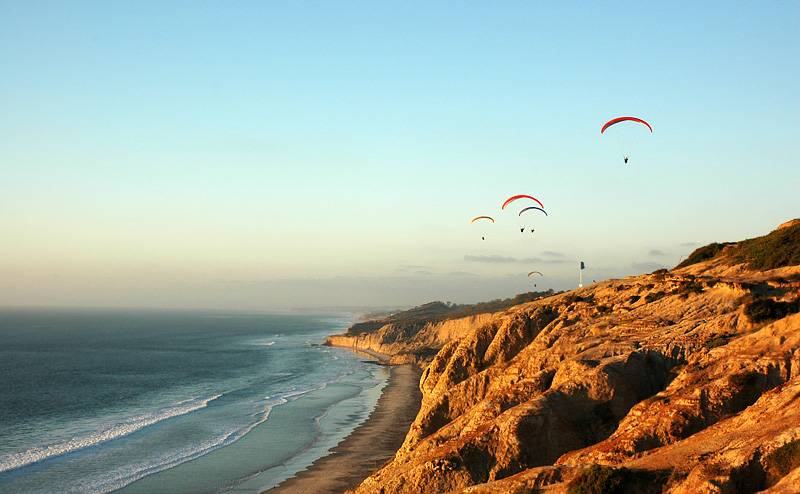 Torrey Pines State Beach- Free Things to Do in San Diego, California