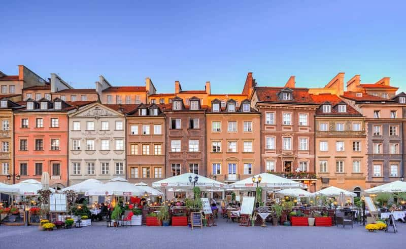Warsaw, Poland - Best Countries To Travel On A Budget