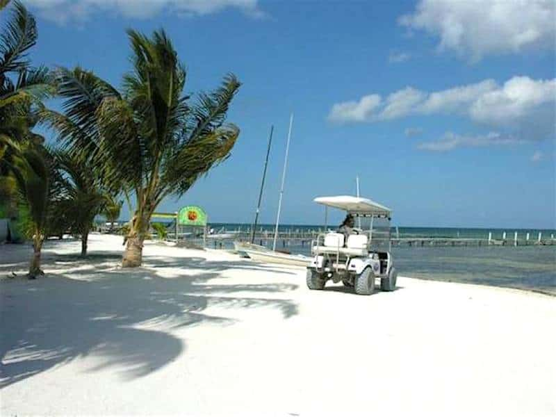 Golf Cart Riding - Things to Do in Ambergris Caye, Belize with Family