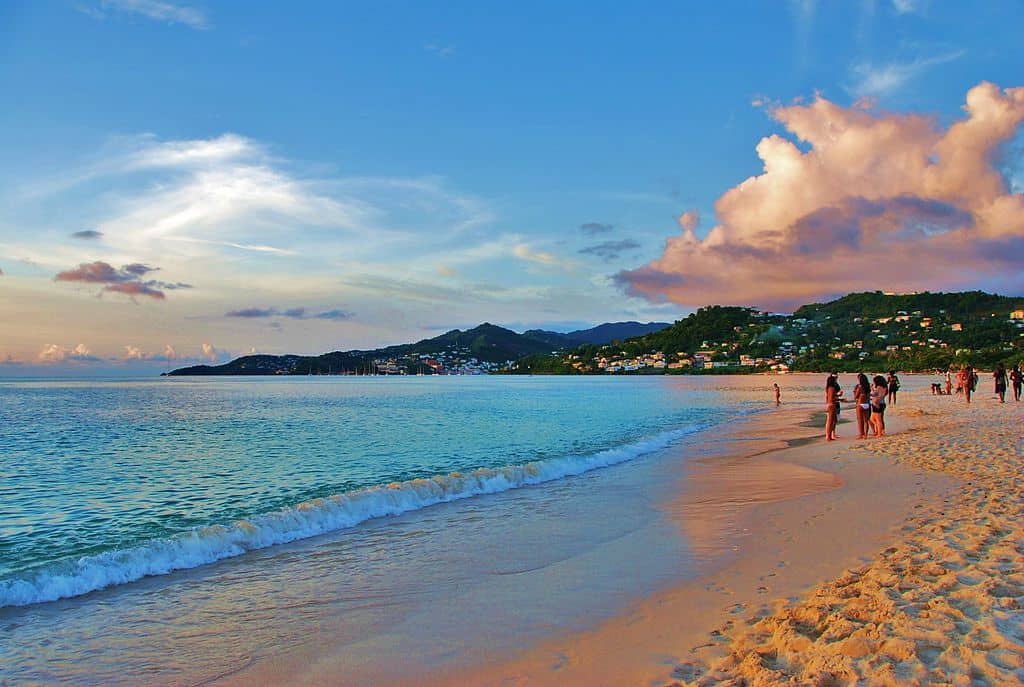 Grand Anse Beach - Grenada with Kids