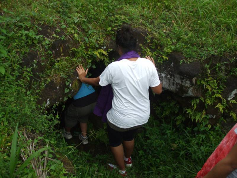 Paia Dwarfs cave - Best Things to Do in Western Samoa With Kids