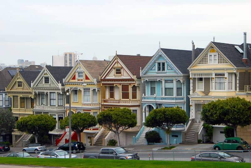 Painted Ladies, San Fransisco- Things to Do in San Francisco, CaliforniaThings to Do in San Francisco, California