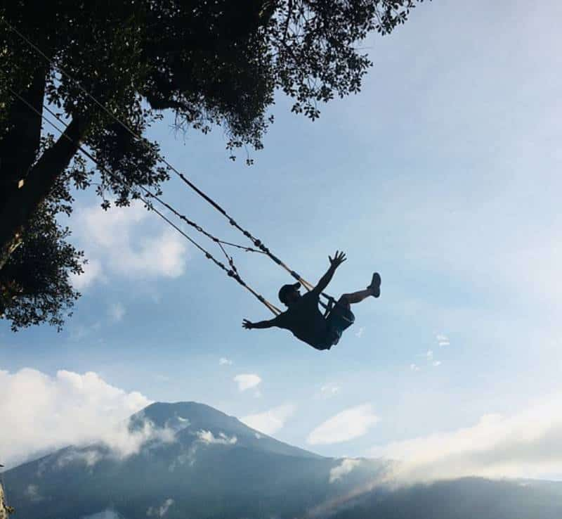 Swing at the End of the World - Things to Do in Ecuador