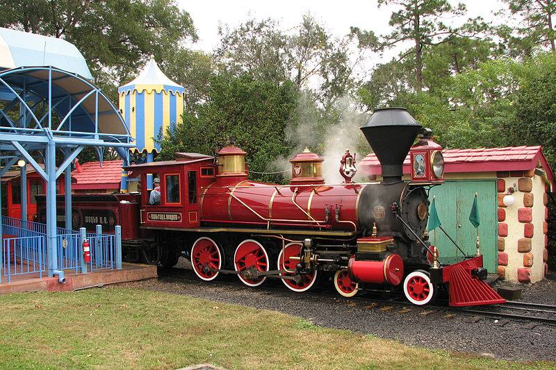 Train at Toontown