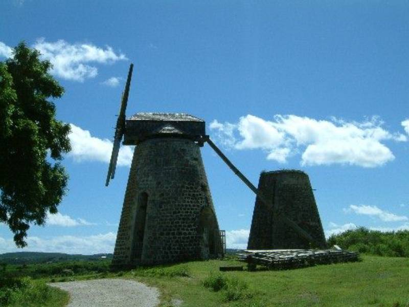 Windmill, Betty's Hope Plantation, Antigua and Barbuda