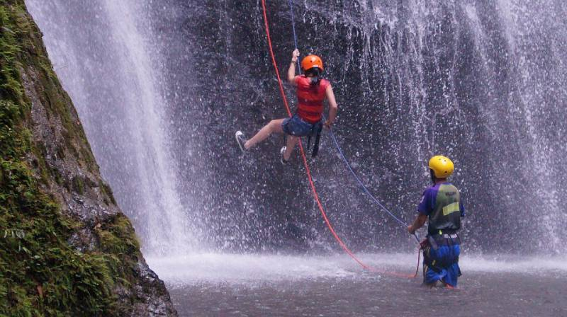 canyoning - Things to Do in Ecuador