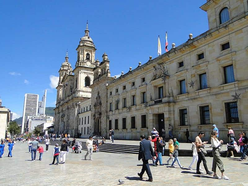 Bolivar Square - Bogota, Columbia with Kids