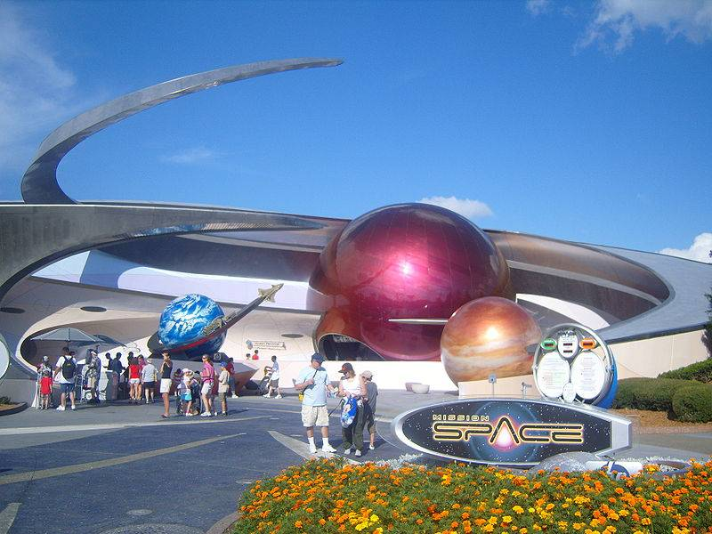 EPCOT Mission Space
