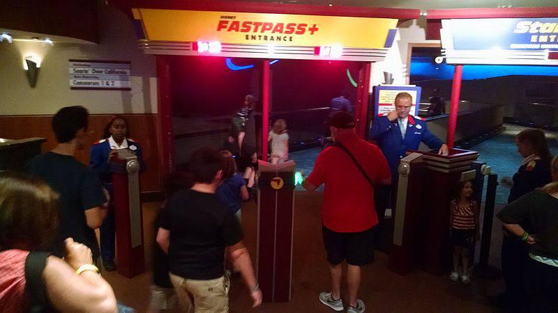 EPCOT Fast Pass