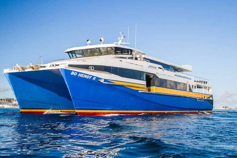 Ferry to Bimini