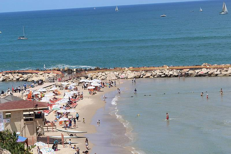 Hilton Beach - Israel With Family