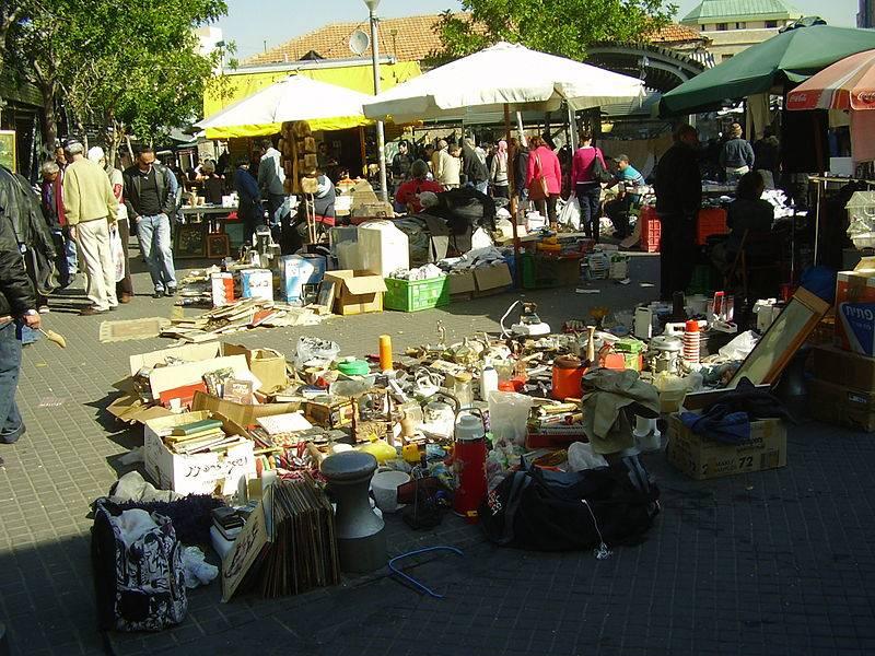 Jaffa Flea Market - Israel With Family