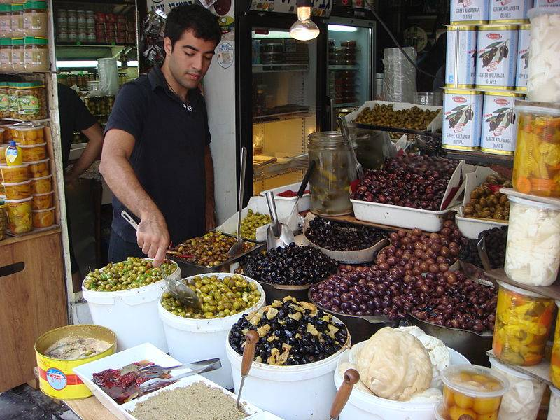 Levinsky Spice Market - Israel With Family