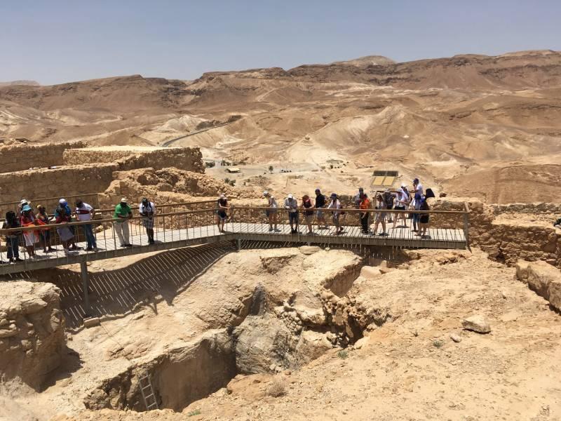 Masada National Park - Israel With Family