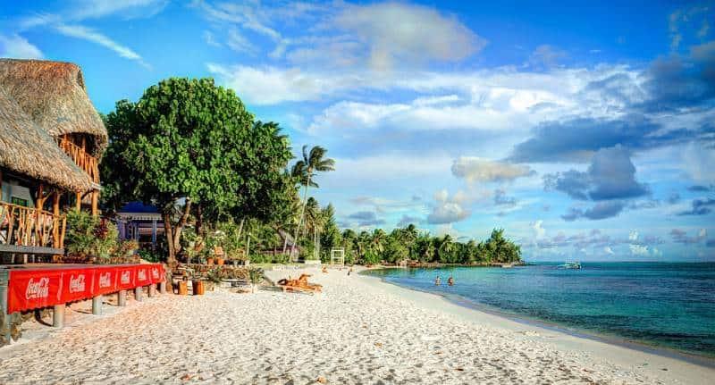 Matira Beach. Bora Bora