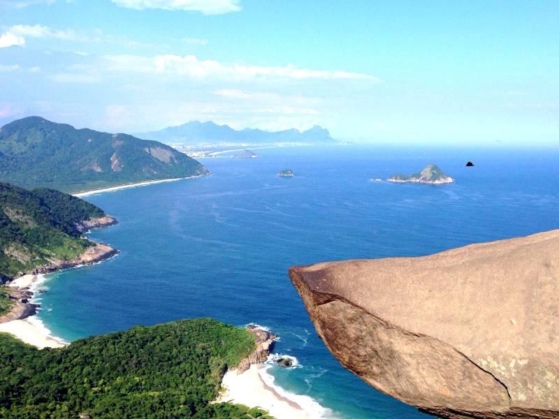 Pedra do Telegrafo cliff, Rio De Janeiro