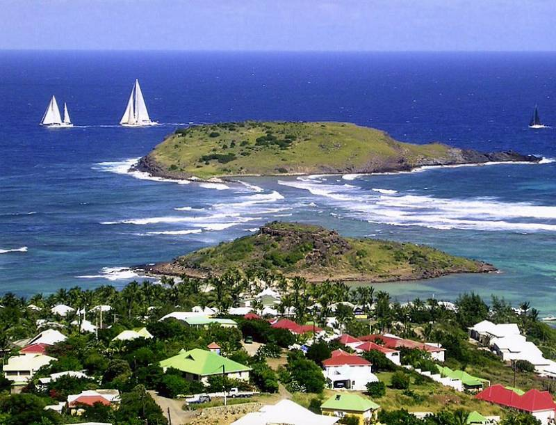 Anse de Grand Cul de Sac - Reasons Why You Should Visit St. Barts