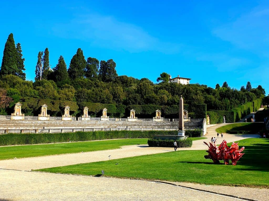 Boboli Gardens, Florence , Italy - Best European Cities to Travel with Kids