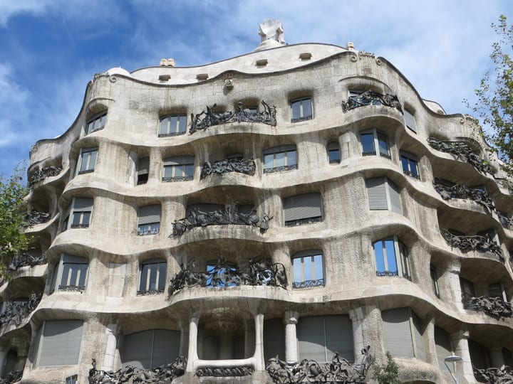 Casa Mila, Barcelona , Spain - Best European Cities to Travel with Kids