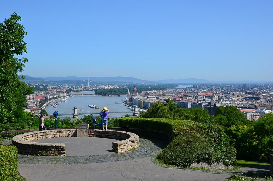 Gellért Hill, Budapest, Hungary - Best European Cities to Travel with Kids